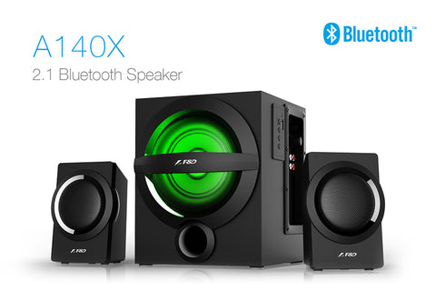 F&D 2.1 Bluetooth Speakers A140X - Ambitionmart