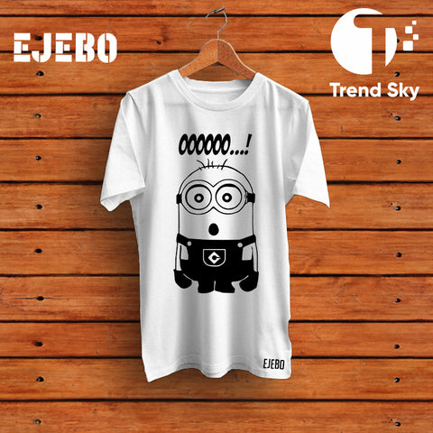 Ejebo Round Neck Minion T-Shirt For Mens - Ambitionmart