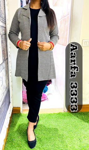 Aarfa Pure Woollen Inner With Pant And Detachable Jacket 3333 - Ambitionmart