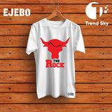 "Ejebo Round Neck ""The Rock"" T-Shirt For Mens - Ambitionmart"