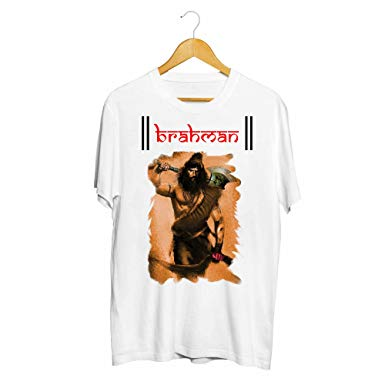fc17befe3 Ejebo Parshuram Printed Men's Round Neck T-Shirt-Ambitionmart