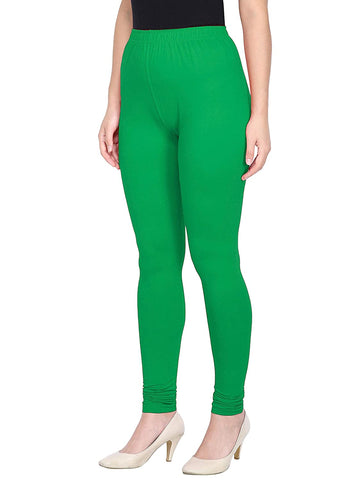 Ejebo Women's Churidar Leggings Soft Cotton Lycra Fabric Slim Fit - Ambitionmart