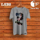 Ejebo Round Neck Creative T-Shirt - Ambitionmart