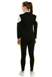 KA Styles Sleep to Jogg Trendy Black Tracksuits For Girls - Ambitionmart