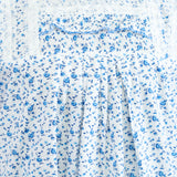 Blue Rose Printed Cotton Nighty - Ambitionmart