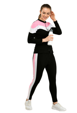 KA Styles Sleep to Jogg Trendy Pink Tracksuits For Girls - Ambitionmart