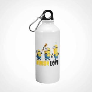 Ejebo Minion Love Printed White Sipper - Ambitionmart