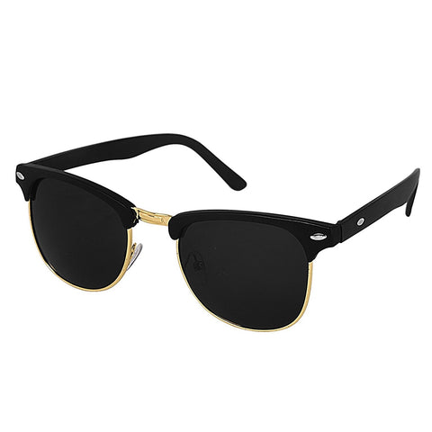 Ejebo Clubmaster Black Sunglasses TD-BLK-02 - Ambitionmart