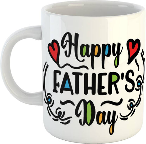 Father's Day Printed Coffee Ceramic Mug - Ambitionmart