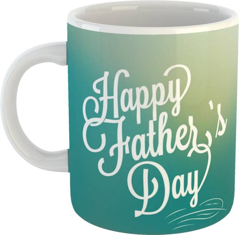 Happy Father's Day Printed Coffee Ceramic Mug - Ambitionmart