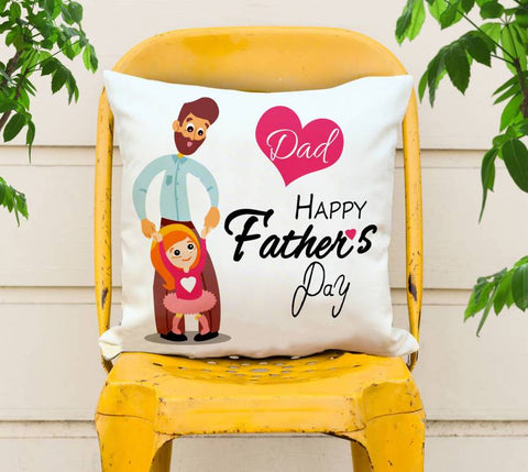 Happy Father's Day Printed Cushions Cover - Ambitionmart