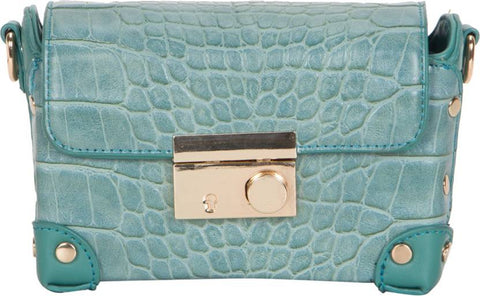 Ejebo Girls Green Leatherette Sling Bag - Ambitionmart
