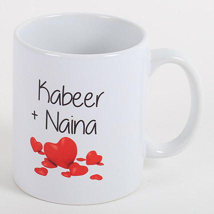 Ejebo Couple Love Forever Personalized Mug - Ambitionmart