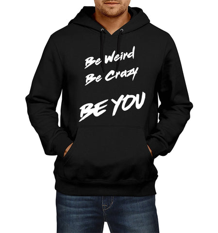 Ejebo Black Men's Hoodie With Custom Text - Ambitionmart