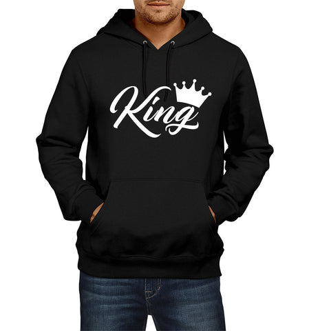 Ejebo Black Men's Hoodie With Custom Texts - Ambitionmart