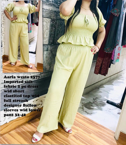 Aarfa Westro Imported 2 pc Dress 2377 - Ambitionmart