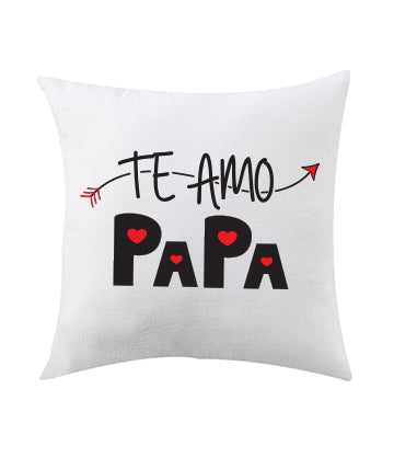Te Amo Papa Printed Cushions Cover - Ambitionmart