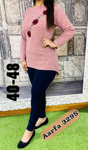 Aarfa Woollen Top 3295 - Ambitionmart