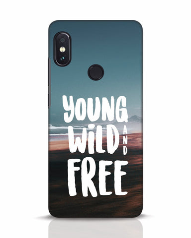 Young Wild And Free Xiaomi Redmi Note 5 Pro Mobile Cover - Ambitionmart