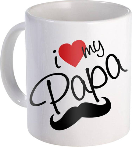 I Love You Dad Printed Coffee Ceramic Mug - Ambitionmart