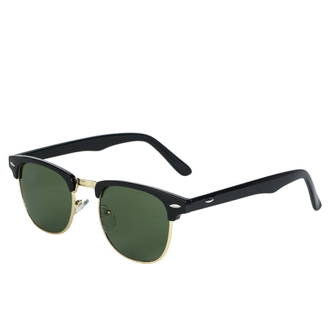 Ejebo Clubmaster Green Sunglasses TD-GRN-03 - Ambitionmart