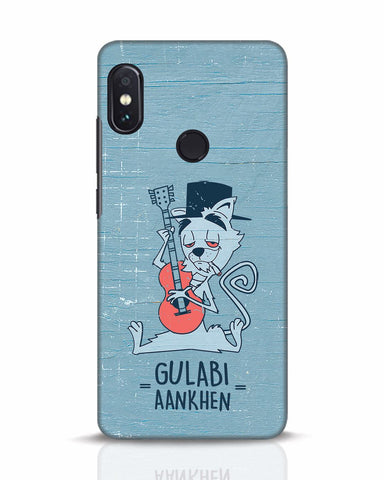 Gulabi Aankhen Xiaomi Redmi Note 5 Pro Mobile Cover - Ambitionmart