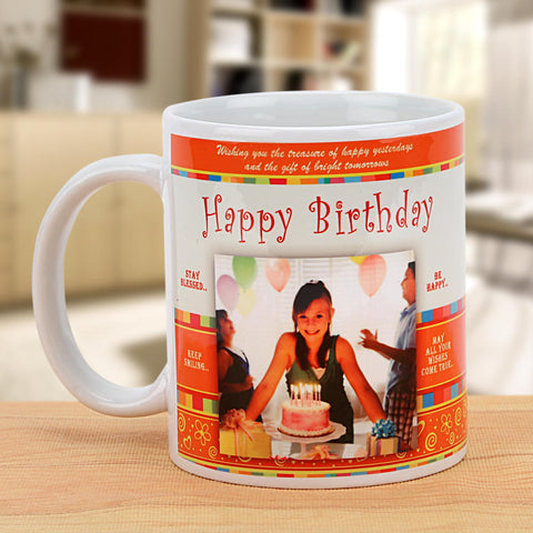 Ejebo Happy Birthday Personalized Mug - Ambitionmart