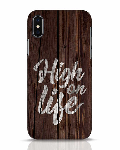 High On Life iPhone X Mobile Cover - Ambitionmart