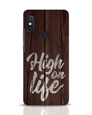 High On Life Xiaomi Redmi Note 5 Pro Mobile Cover - Ambitionmart