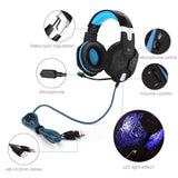 Kotion Each G1100 Edition Over The Ear Headsets With Mic & 7 Color RGB LED - Ambitionmart