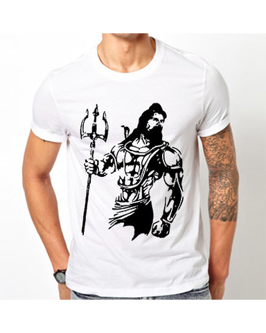 "Ejebo Bhola T-Shirt For Men's ""Lord Shiva"" - Ambitionmart"