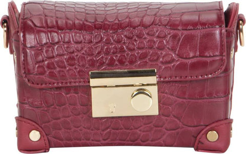 Ejebo Girls Red Leatherette Shoulder Bag - Ambitionmart
