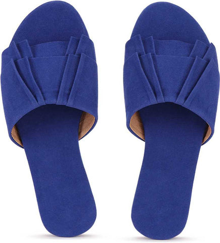 PKKART Blue Flats For Women and Girls (New-Blue-005) - Ambitionmart