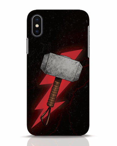 Mjolnir iPhone X Mobile Cover - Ambitionmart