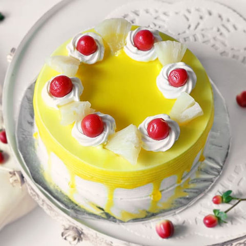 PINEAPPLE CAKE WITH CHERRY TOPPINGS - Ambitionmart