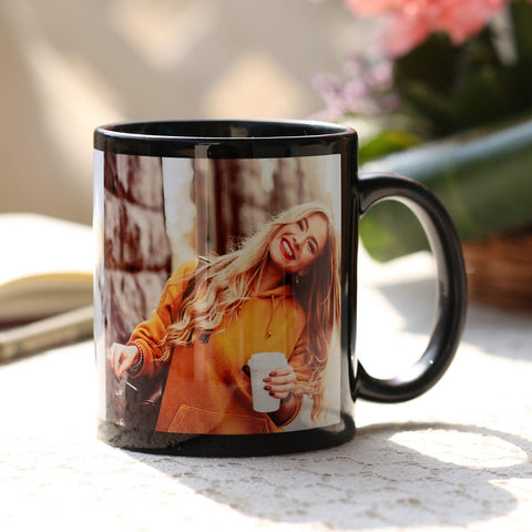 Ejebo Personalised Black Ceramic Mug - Ambitionmart