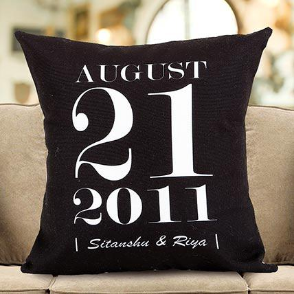 Ejebo Personalized Important Date Cushion - Ambitionmart