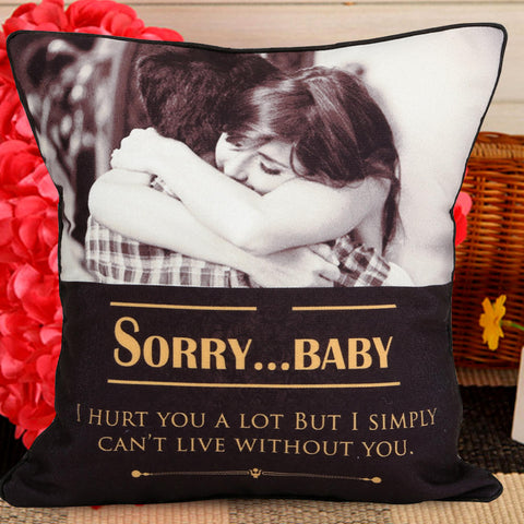 Ejebo Personalized Sorry Cushion - Ambitionmart