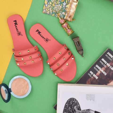 PKKART Pink Flats For Women and Girls (New-Pink-006) - Ambitionmart