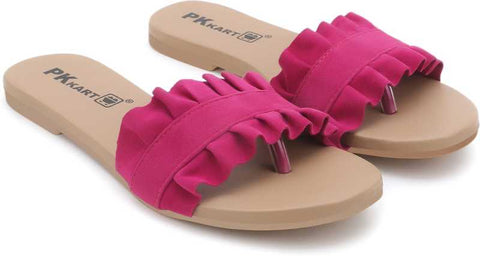 PKKART Pink Flats For Women and Girls - Ambitionmart