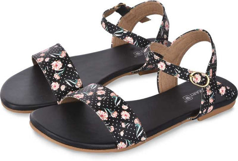 PKKART Multi Color Flat Sandal For Women and Girls - Ambitionmart