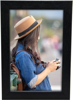 Black Wood Photo Frame - Ambitionmart