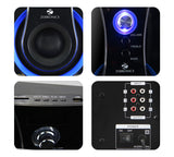 Zebronics ZEB-BT3490RUCF  4.1 Multimedia Bluetooth Speaker System - Ambitionmart