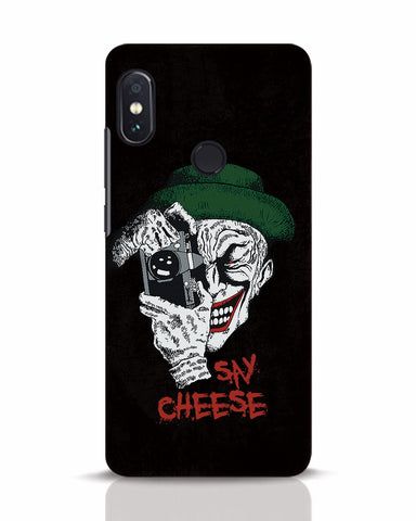 Say Cheese Xiaomi Redmi Note 5 Pro Mobile Cover - Ambitionmart