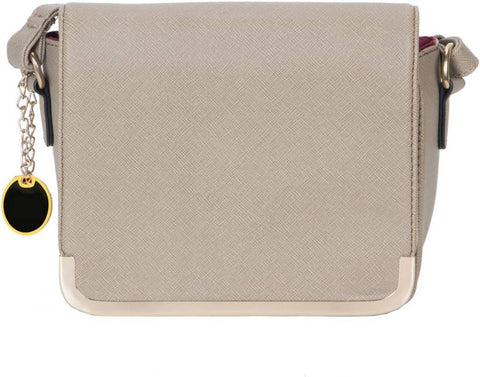 Ejebo Girls Grey Leatherette Sling Bag - Ambitionmart