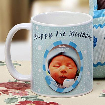 Ejebo The First Milestone Personalized Mug - Ambitionmart