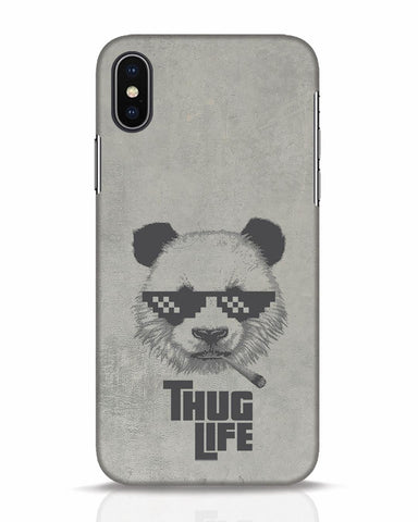 Thug Life iPhone X Mobile Cover - Ambitionmart