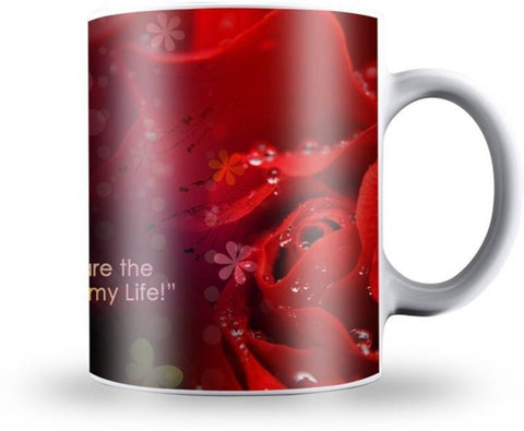 "Ejebo ""You Are The Love Of Mine"" Ceramic Coffee Mug - Ambitionmart"