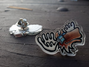 Cosmic Moose Pin
