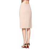 Modest A-line Skirt in Camel 2618C - MissFinchNYC, modest, modest clothing, trendy modest clothing, modest apparel, modest fashion, tznius clothing, tzinuis fashion